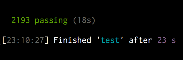 Make unit tests fast
