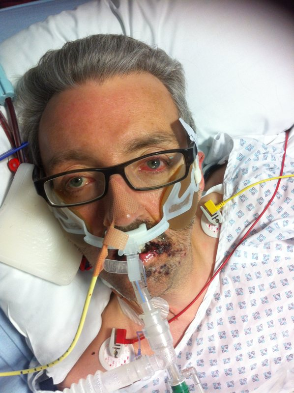 Marc Littlemore in intensive care